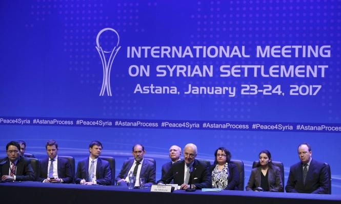 تأجيل محادثات سورية في أستانة وروسيا تقصف درعا
