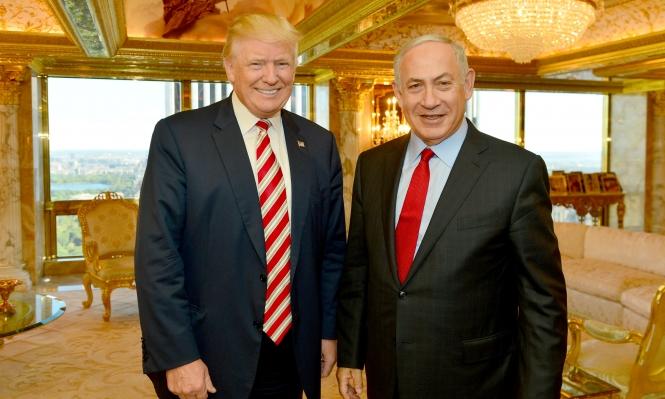 ترامب يدعم السلام حتى إذا لم يتضمن حل الدولتين