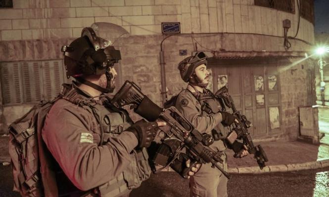 اعتقال 20 فلسطينيا ومصادرة 15 مركبة بالضفة