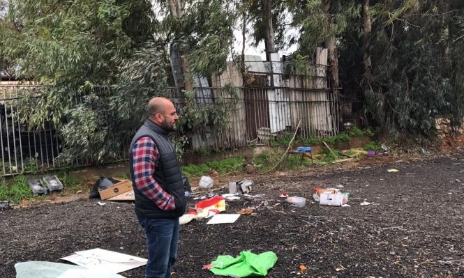 قلنسوة: تذمر وغضب عارمين إثر إزالة خيمة الاعتصام