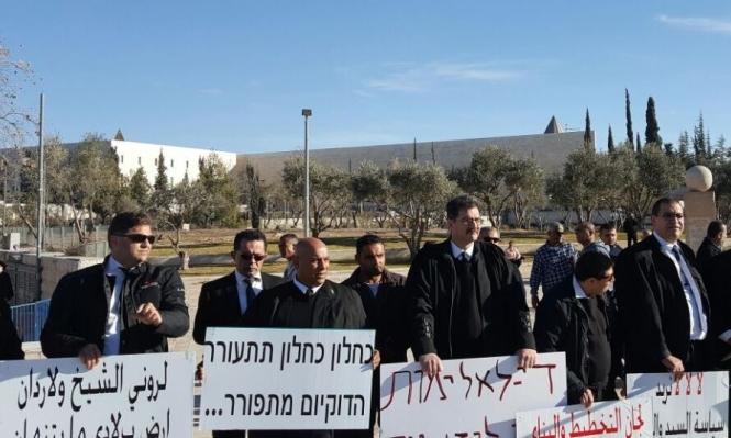 المحامون العرب يطالبون ناؤور التحقيق بمنعهم دخول العليا
