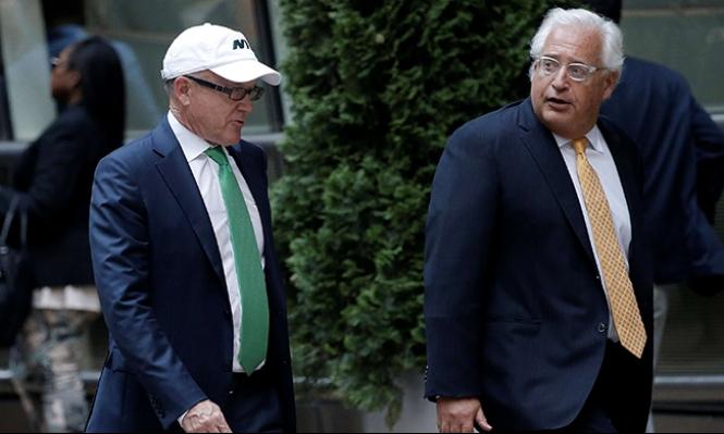 سفراء أميركيون سابقون يطالبون بعدم تعيين فريدمان سفيرا