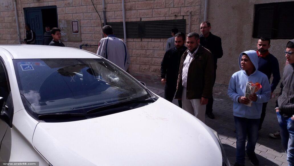 جت المثلث: اعتداء على سيارة إمام مسجد