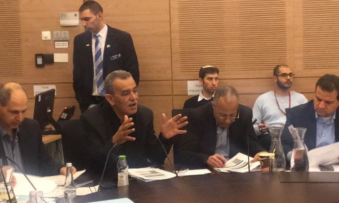 زحالقة يترأس لجنة برلمانية لمكافحة حوادث الطرق
