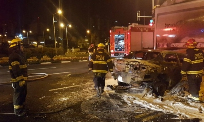 حيفا: إصابة شخص في حادث طرق
