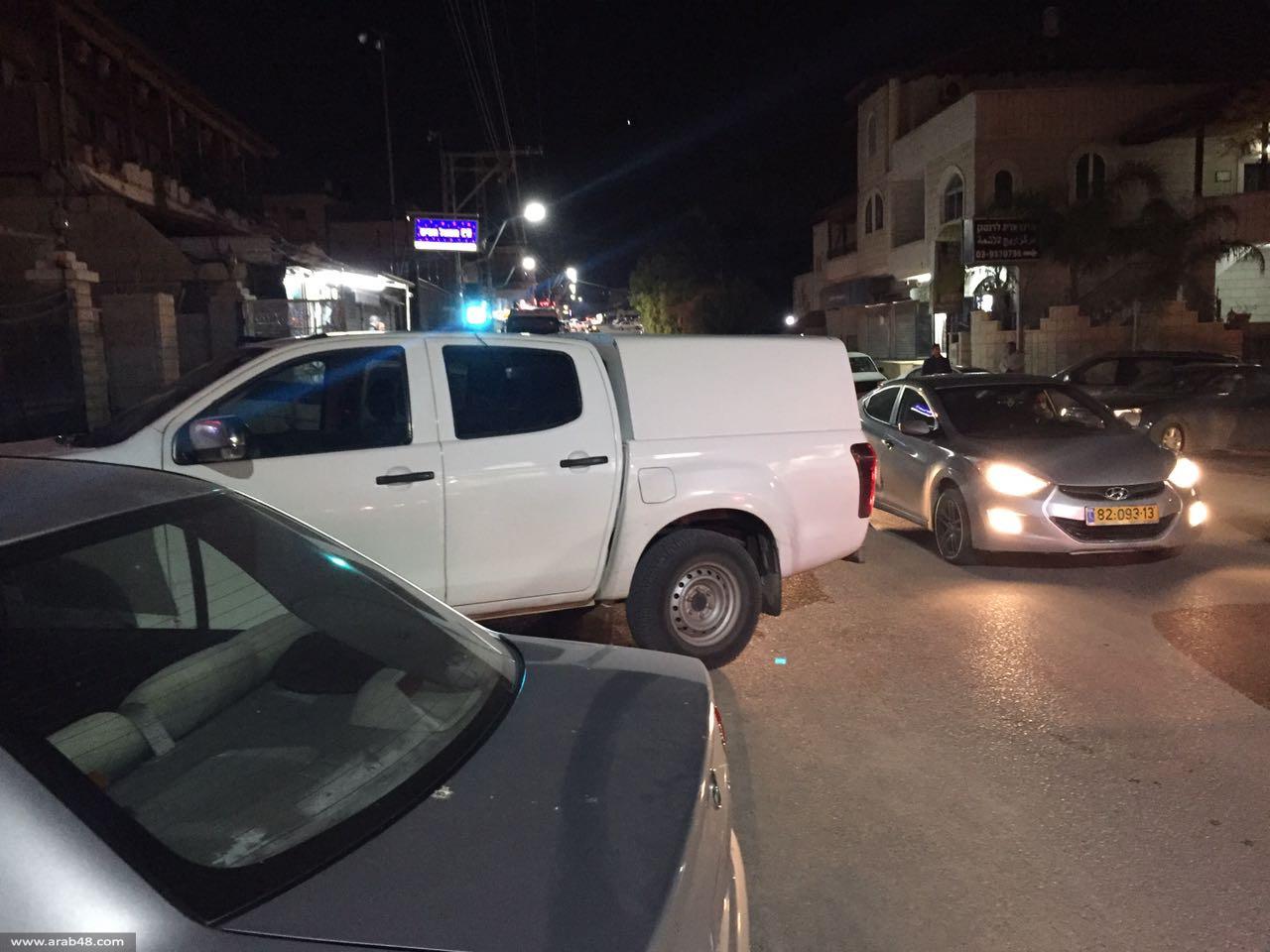 إصابة خطيرة لرجل بجريمة إطلاق نار في كفرقاسم