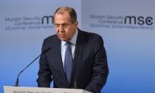 لافروف يعلن عن هدنة في أوكرانيا
