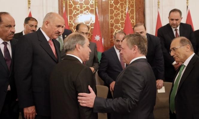 وقفة احتجاجية بالأردن تطالب بإسقاط الحكومة