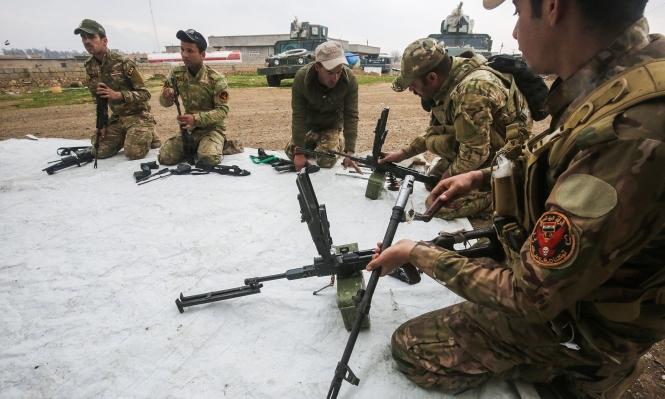 الجيش العراقي يتأهب لهجوم بري على غرب الموصل