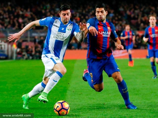 ميسي يقود برشلونة لفوز صعب على ليغانيس