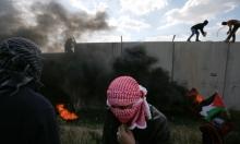 مواجهات بقلقيلية وقلنديا والاحتلال يعتقل 7 شبان بالضفة