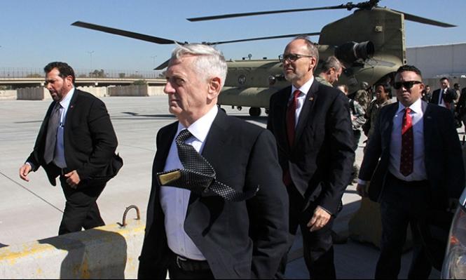 ماتيس: القوات الأميركية ستبقى في العراق