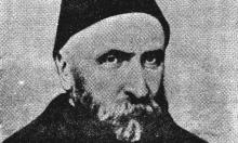 طربوش ونقوش على قبر الوالي حمدي باشا ببيروت