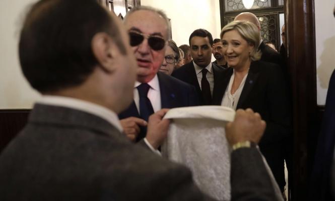 لوبان ترفض ارتداء الحجاب وتلغي لقاء مفتي لبنان