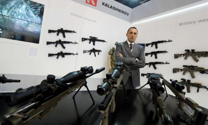الشرق الأوسط يضاعف مبيعات كلاشنيكوف من الأسلحة
