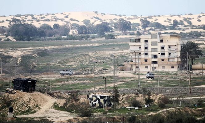 الجيش المصري يدمر نفقا رئيسيا على حدود غزة