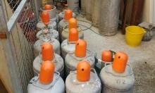 مصادرة أسطوانات غاز في البعنة ودير الأسد