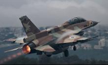 الطيران الحربي الإسرائيلي يقصف مقرات للنظام بدمشق