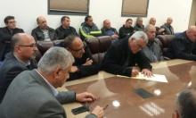 مجلس طلعة عارة: إضراب بعد إطلاق النار على سيارة إغبارية