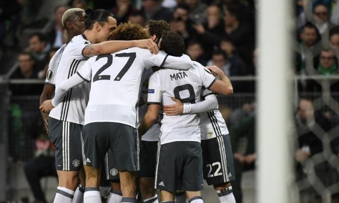 مانشستر يونايتد يتأهل لثمن نهائي الدوري الأوروبي