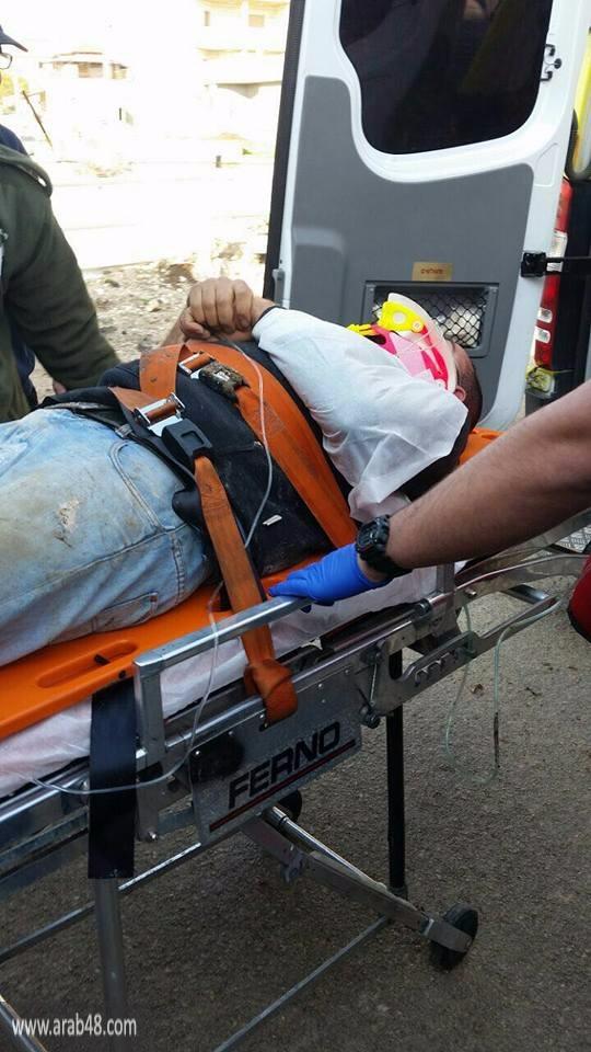 إصابة شاب من عبلين في حادث عمل