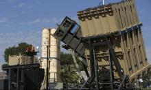 """الجيش الإسرائيلي يجري سلسلة تجارب على """"القبة الحديدية"""""""