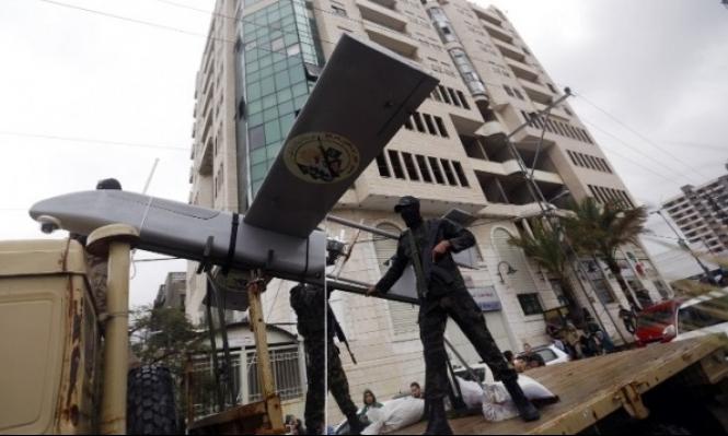 طائرة حربية إسرائيلية تسقط طائرة بدون طيار لحماس