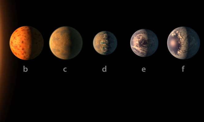 """10 معلومات عن كواكب """"ناسا"""" السبعة"""