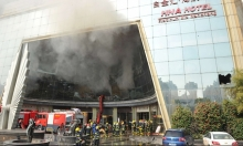 مصرع 10 أشخاص حرقا شرقي الصين