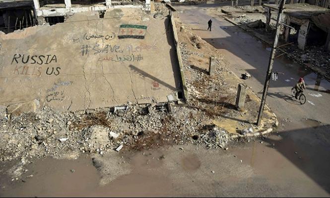 حمص: 42 قتيلا في هجمات انتحارية على مقار أمنية