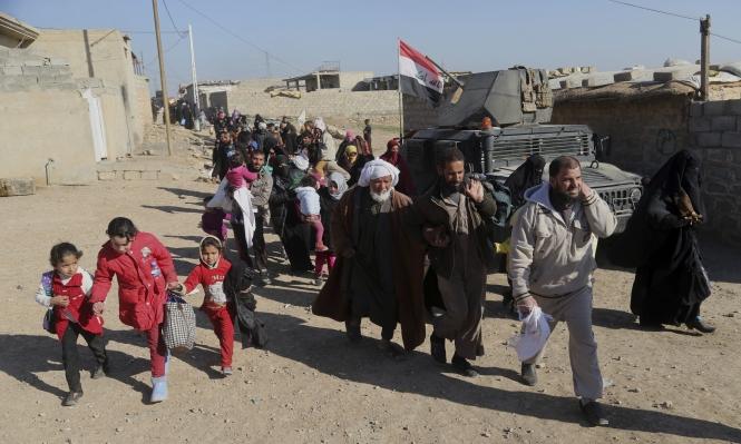 توقع نزوح 200 ألف مدني مع استمرار معارك الموصل
