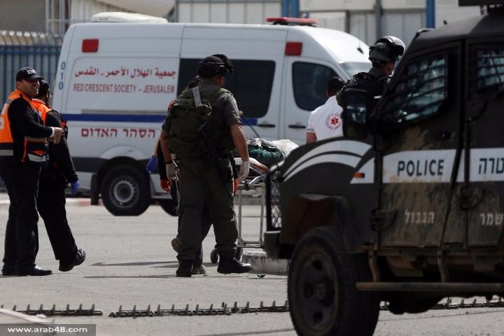 قلنديا: إصابة فلسطينية بنيران الاحتلال