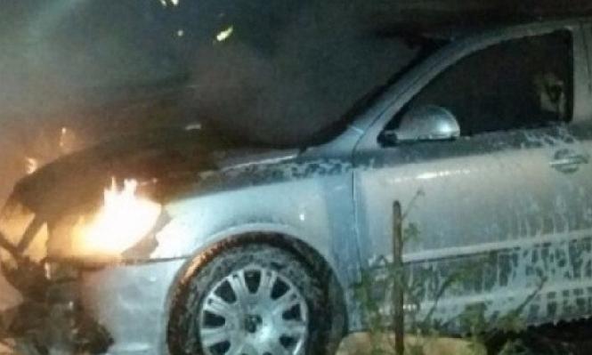 طوبا الزنغرية: إضرام النار في سيارتين