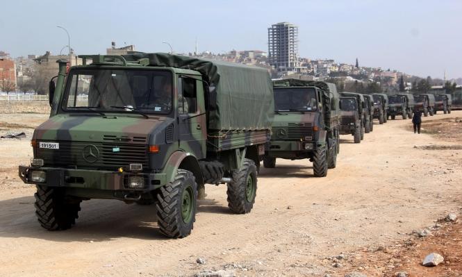 تركيا ترسل تعزيزات وفرقاطة روسية تتجه لسورية