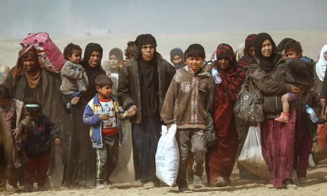 عدد النازحين عن الموصل وصل إلى 235 ألفا