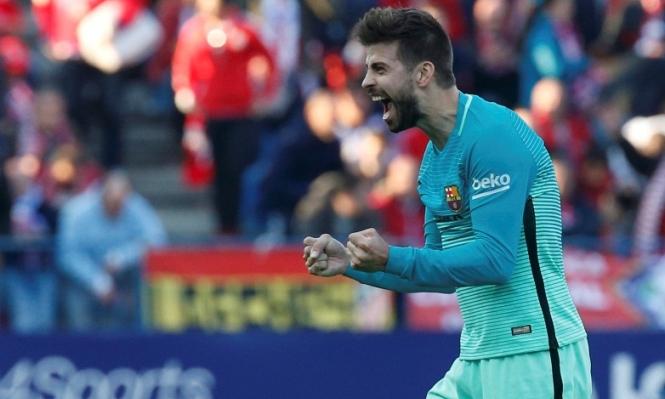مدافع برشلونة يثير الجدل!