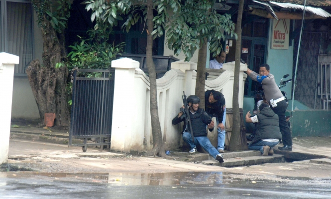 إندونيسيا: الشرطة تقتل مشتبها في أعقاب انفجار