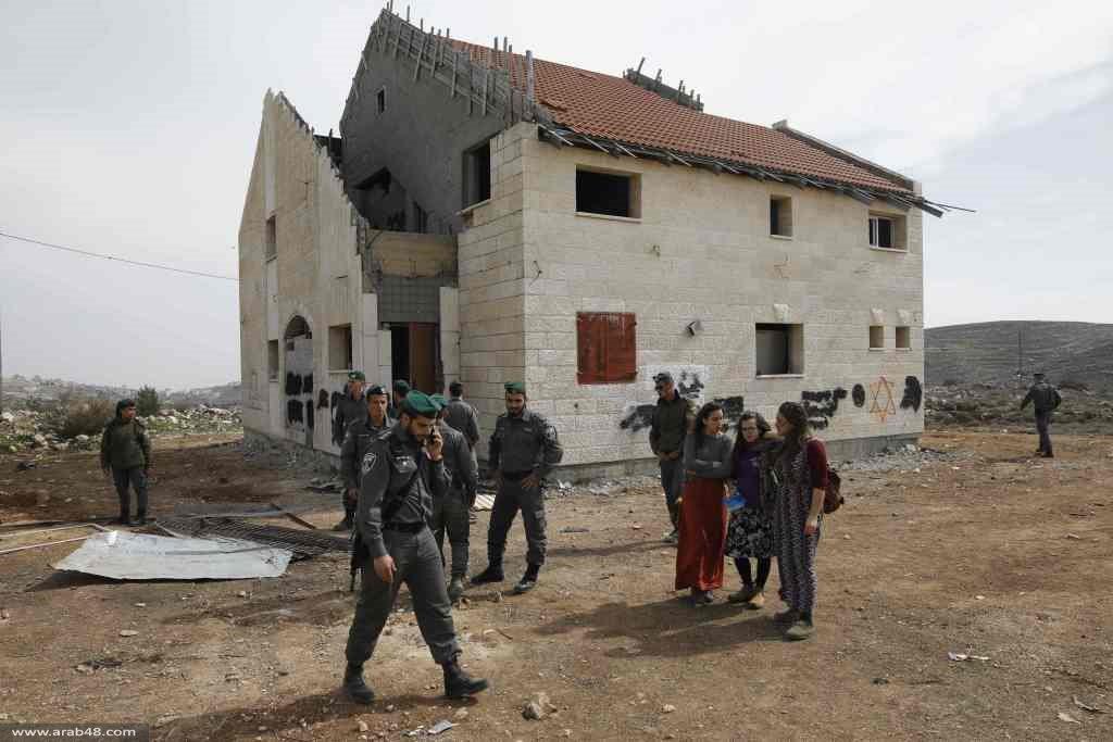 """الجيش يشرع بإخلاء  9 وحدات استيطانية بـ""""عوفرا"""""""