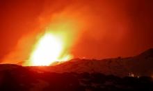 """بركان """"إتنا"""" في جزيرة صقلية يثور مجددًا"""