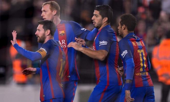 برشلونة يتلقى نبأ سارا قبل مواجهة سان جيرمان