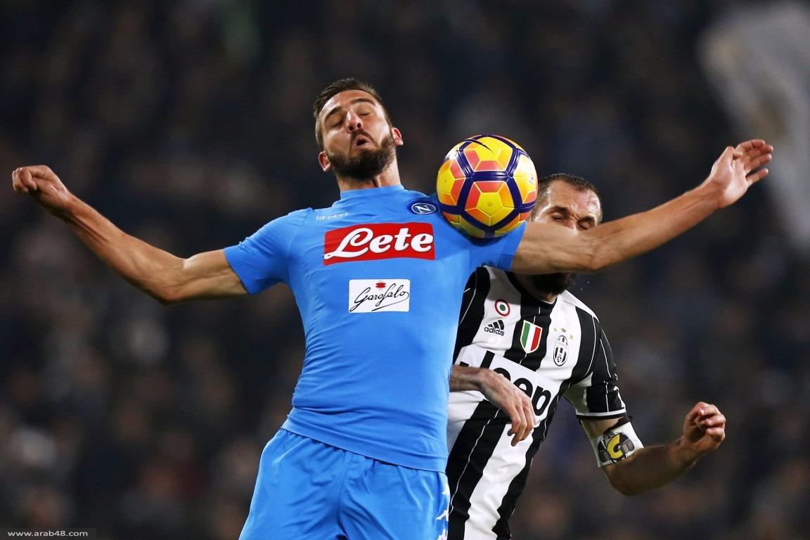 يوفنتوس يفوز على نابولي في كأس إيطاليا