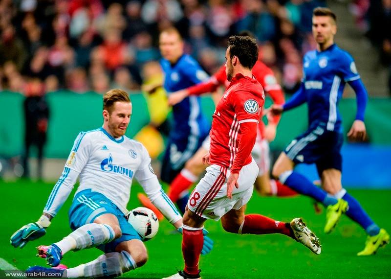 بايرن ميونخ يتأهل لنصف نهائي كأس ألمانيا
