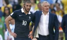 ديشامب يحسم مصير بنزيمة مع منتخب فرنسا