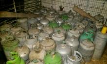 إكسال: اعتقال شاب بعد ضبط 220 أسطوانة غاز