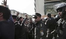 استعراض عسكري لمسلحين مجهولين في سيناء