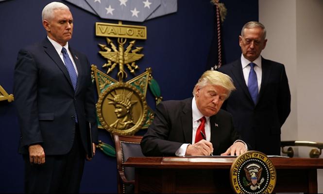 ترامب يوقع أمرا تنفيذيا معدلا يحظر دخول قادمين من 6 دول
