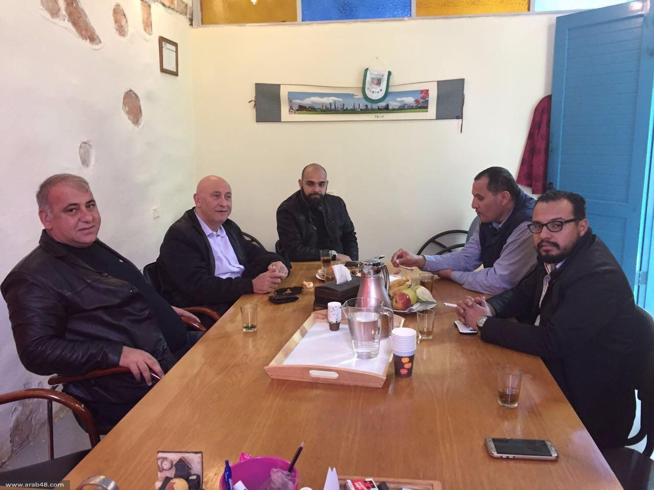 النائب غطاس يزور اتحاد مدن حوض البطوف