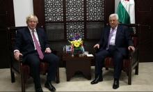 """عباس يطالب بوقف الاستيطان لإحياء """"عملية السلام"""""""