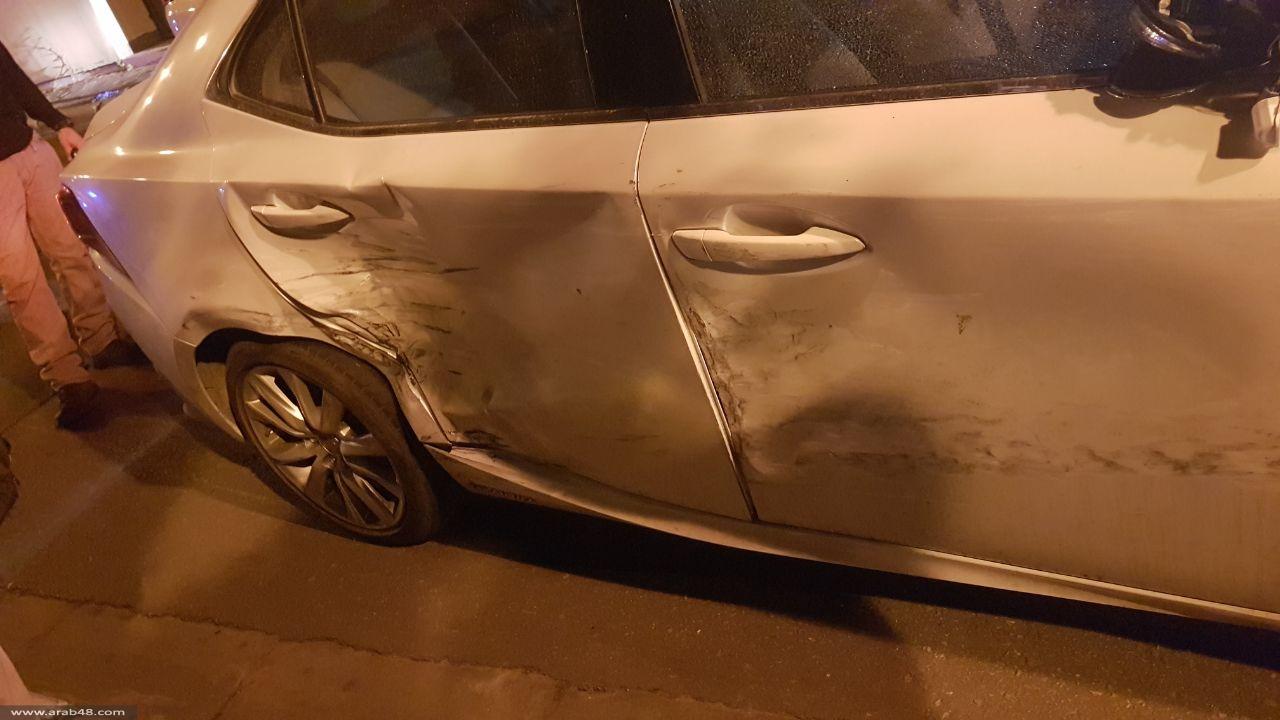 إصابة شابين عربيين برصاص الشرطة في رمات غان