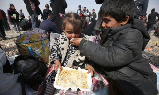 سوء التغذية يرافق معارك الموصل
